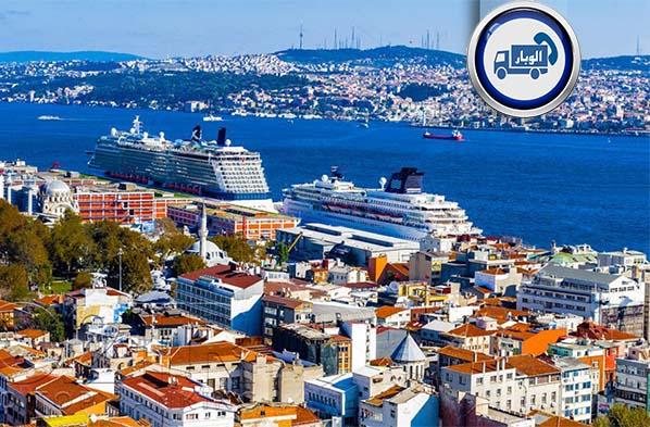 ارسال بار از کرمانشاه به ترکیه