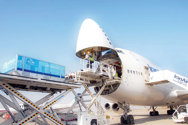 ارسال بار به بحرین به صورت هوایی