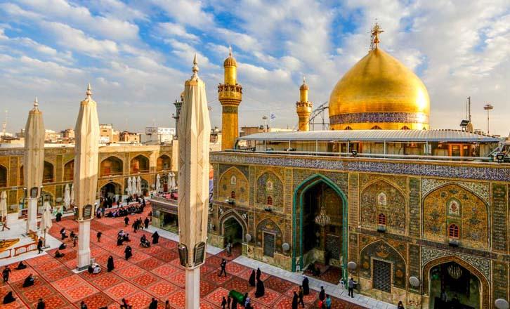 باربری ایران به نجف